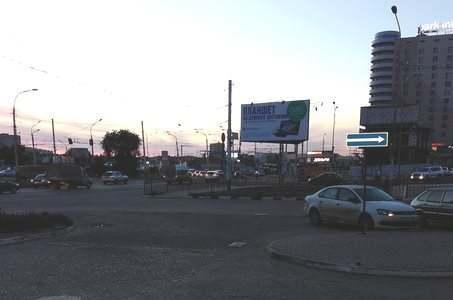 В Астрахани изменили схему выезда из гипермаркета «Магнит»