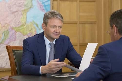 Министр сельского хозяйства России заслушал отчет астраханского губернатора