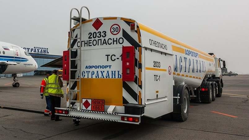 В Астрахани самые высокие в ЮФО цены на авиационный керосин