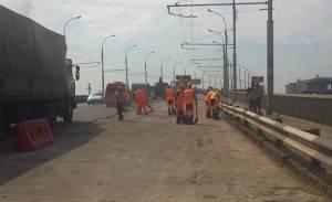 Новый мост в Астрахани будут ремонтировать еще две недели