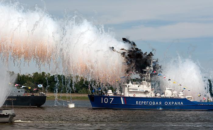 Программа празднования Дня ВМФ в Астрахани