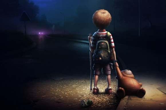 Астраханские подростки продолжают разгуливать по улицам без родителей в ночное время