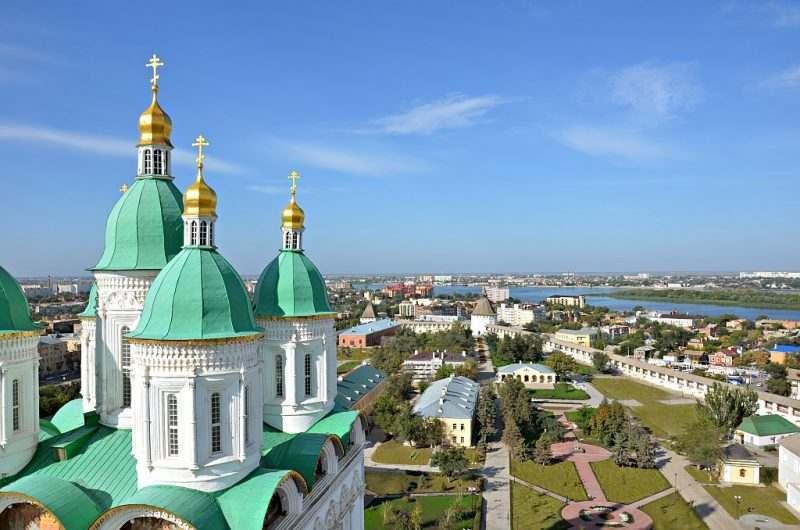 В Астраханском кремле идет реставрация