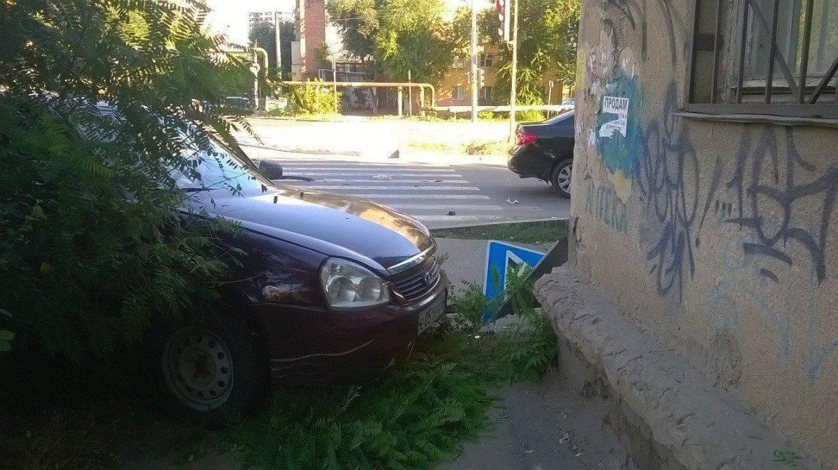 В Астрахани столкнулись два иностранца