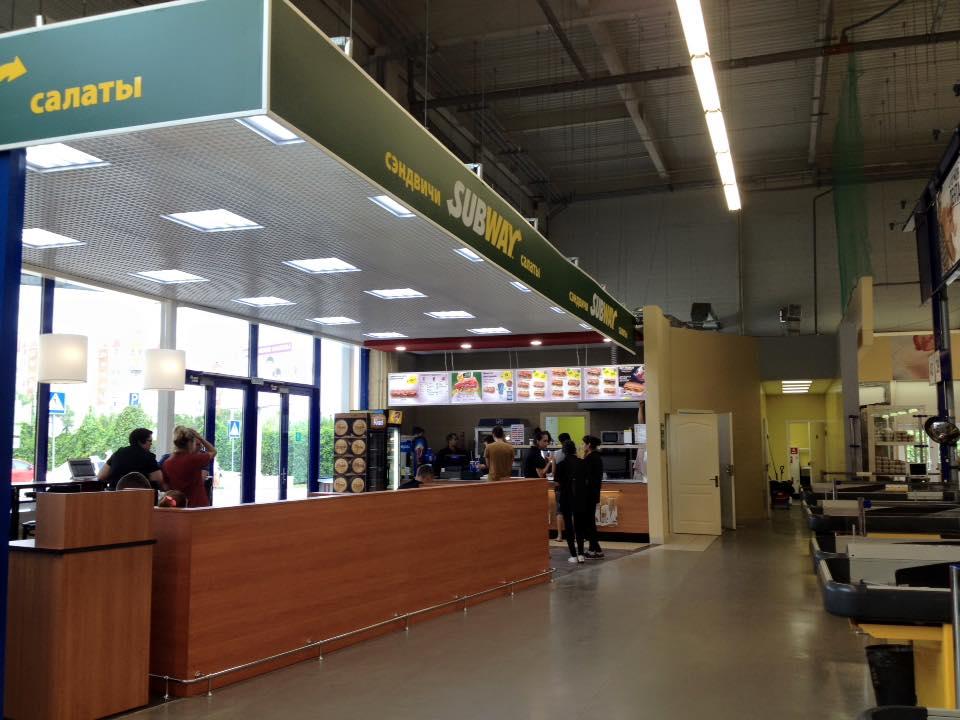 Новый ресторан Subway открылся в Астрахани