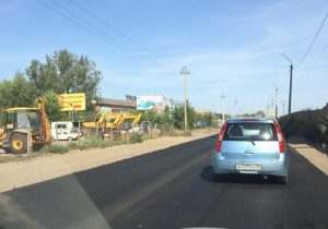 В Астрахани отремонтировали Юго-Восточный проезд
