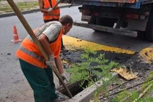 В Астрахани начали чистить то, чего нет