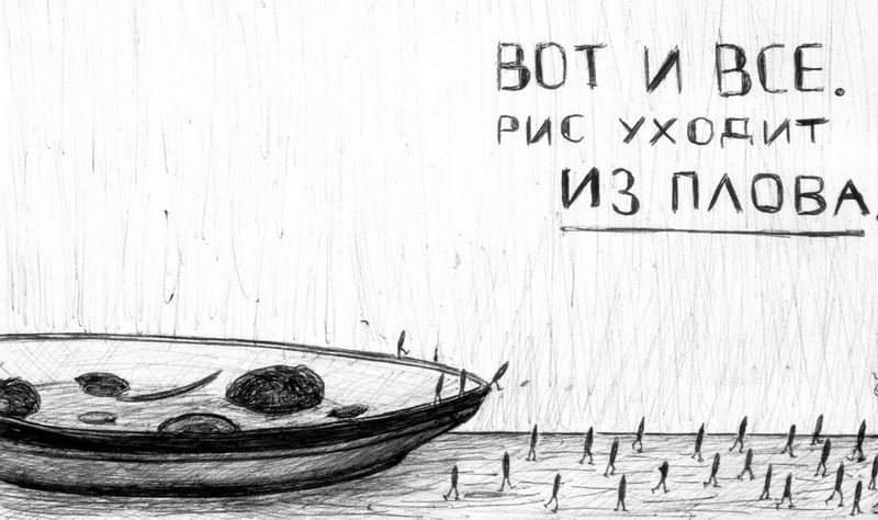 Астраханского риса становится все меньше