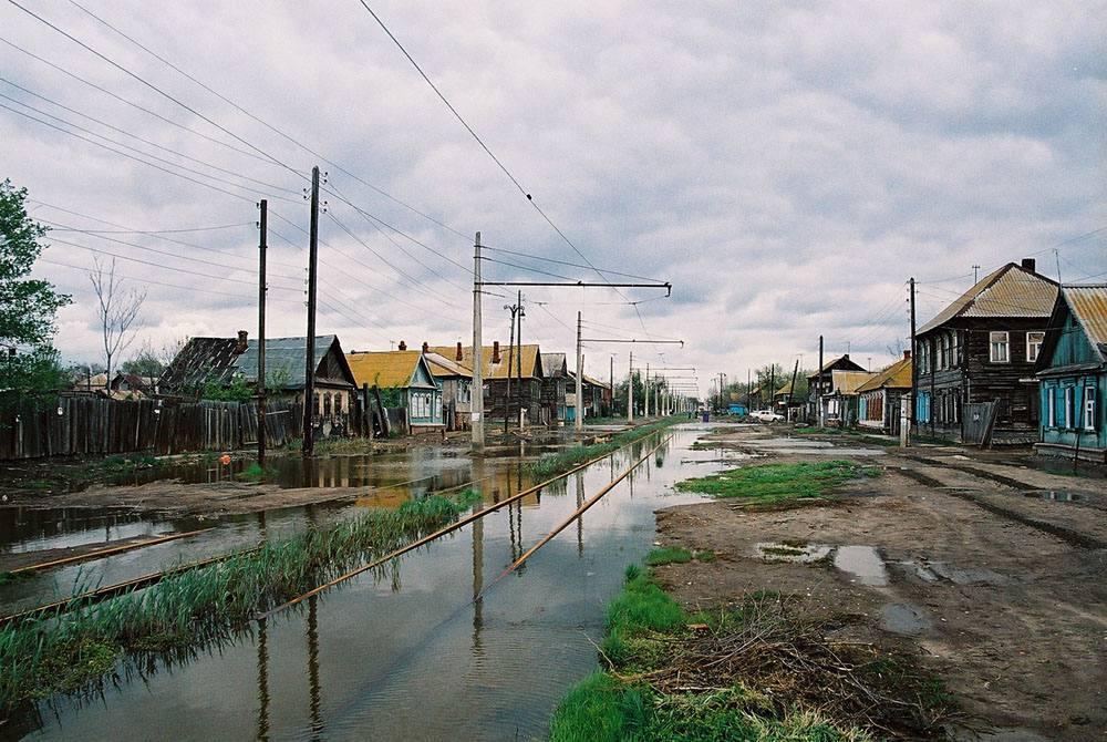 Улица Плещеева, 2007 год. Фото: Владислав Прудников / transphoto.ru