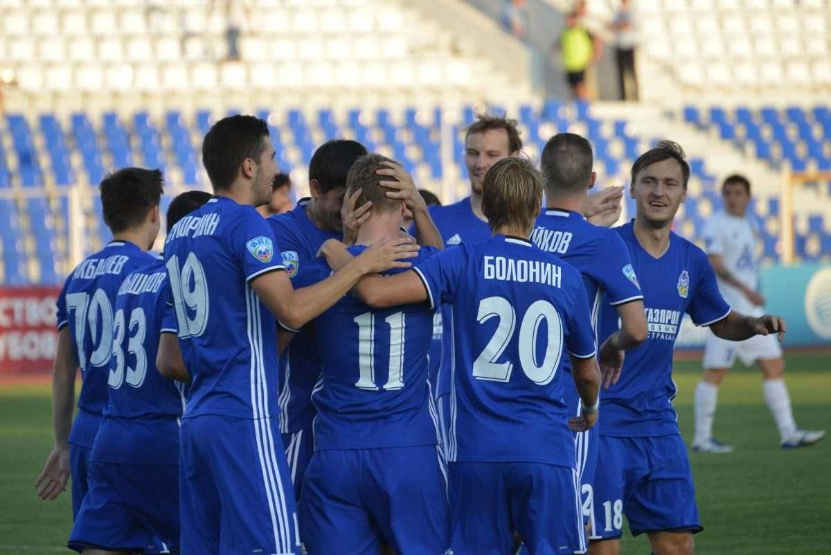 Астраханский «Волгарь» вышел в следующий этап Кубка России