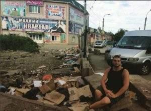 Ремонт улицы Каховского неожиданно натолкнулся на нелегальную торговлю
