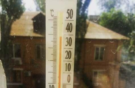 И снова сильная жара в Астраханской области