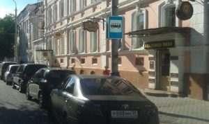 В центре Астрахани появилась новая остановка