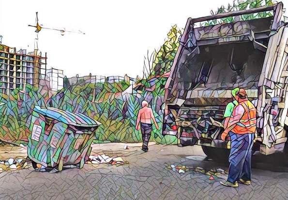 Мусор на улице Латышева в Астрахани складировать перестанут