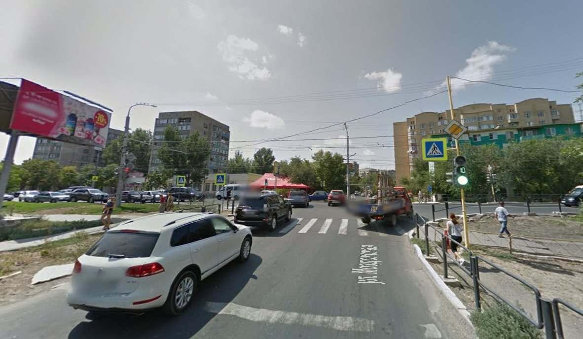 В Астрахани новая схема выезда с улицы Моздокской