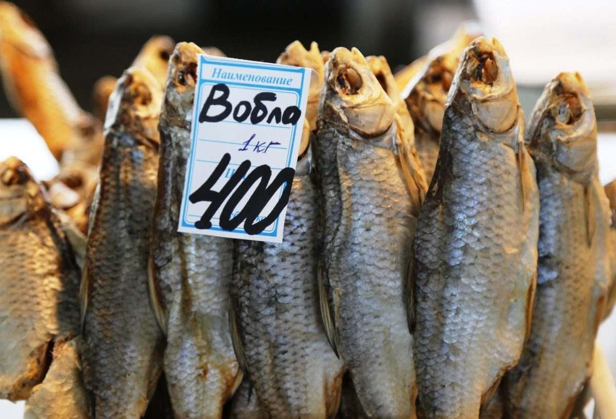 Из всей выловленной в России рыбы на Астраханскую область приходится лишь 0,6%