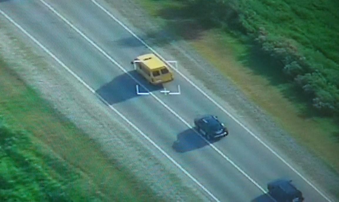 За астраханскими водителями следят беспилотники (ВИДЕО)