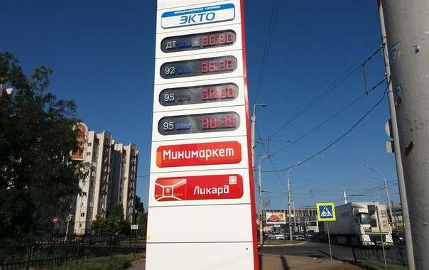 Цены на бензин в Астраханской области пока не растут