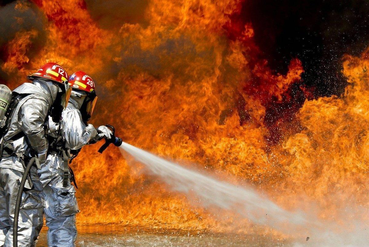 Сегодня в Астрахани горел консервный завод