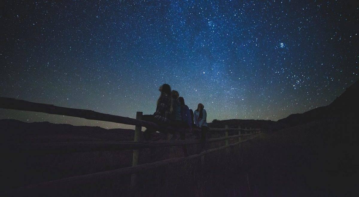 Сегодня ночью в Астрахани пик звездопада