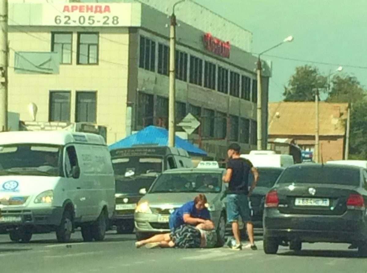 Пожилую астраханку сбили на улице Кубанской