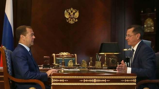 Дмитрий Медведев видит Астраханскую область сельскохозяйственным лидером