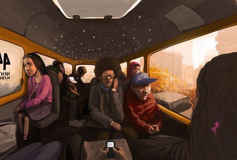 Астраханцы жалуются на грязь и хамство в маршрутках
