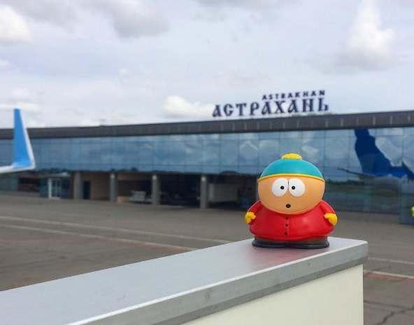 Международный пассажиропоток аэропорта Астрахань сокращается