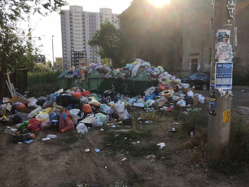 «Мусорную» проблему в Астрахани решить пока не удается
