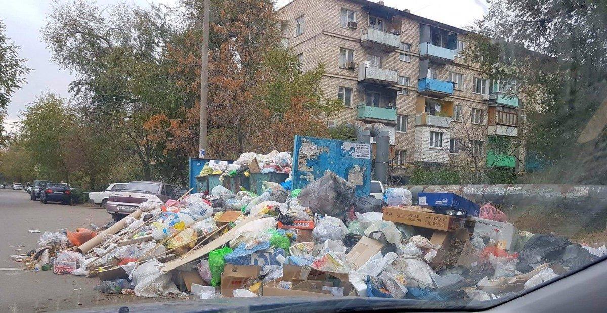 Весь астраханский мусор свозят в Лиман