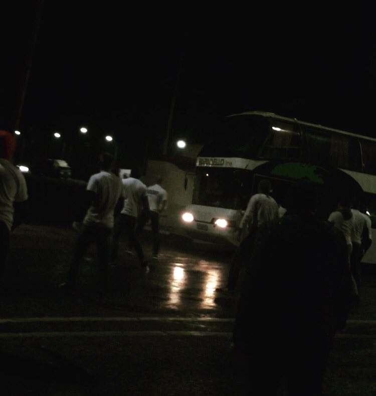 Астраханские болельщики попали в передрягу