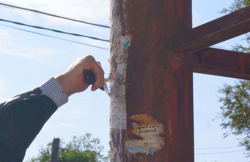 Два астраханских депутата очистили свои округа от листовок