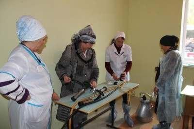 Лучшими операторами осеменения КРС в Астраханской области стали женщины