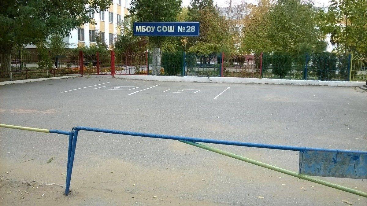 В Астрахани нашли неприступную парковку для инвалидов