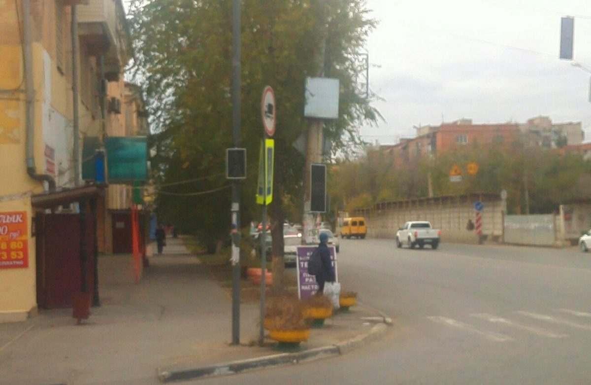 В Астрахани появился еще один новый светофор