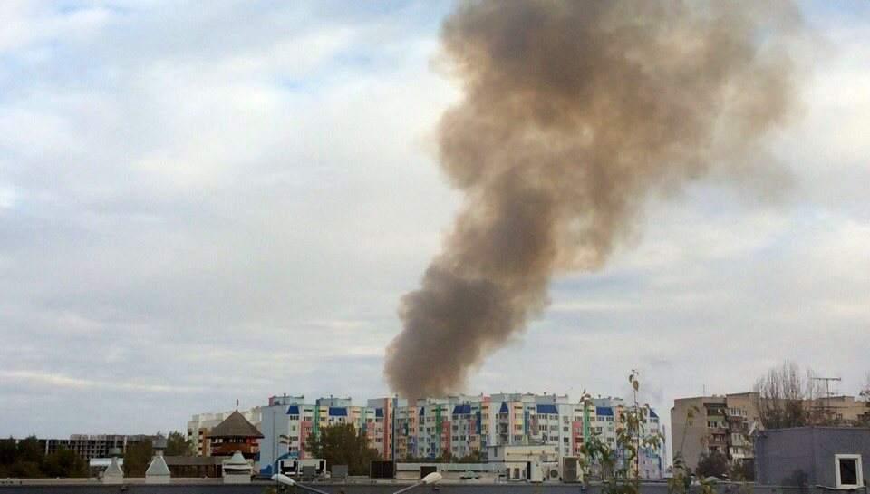 Дым над Юго-Востоком напугал астраханцев