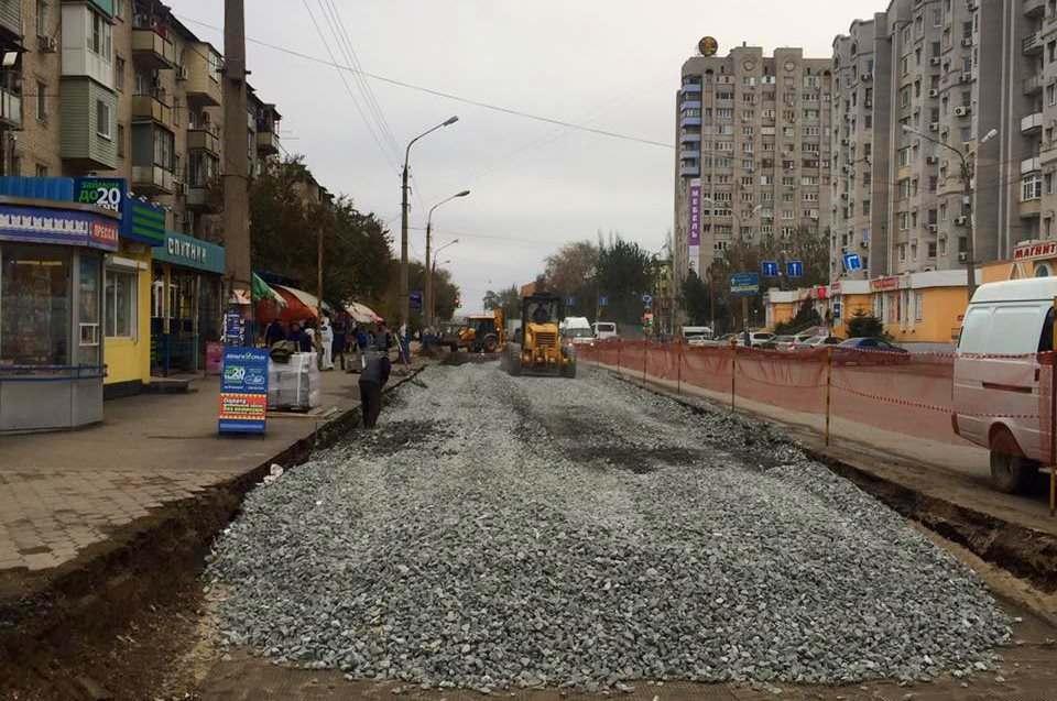 Улица Софьи Перовской станет шире уже в этом году