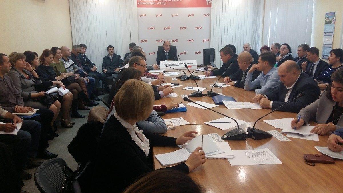 В Астрахани железнодорожники встретились с грузоотправителями