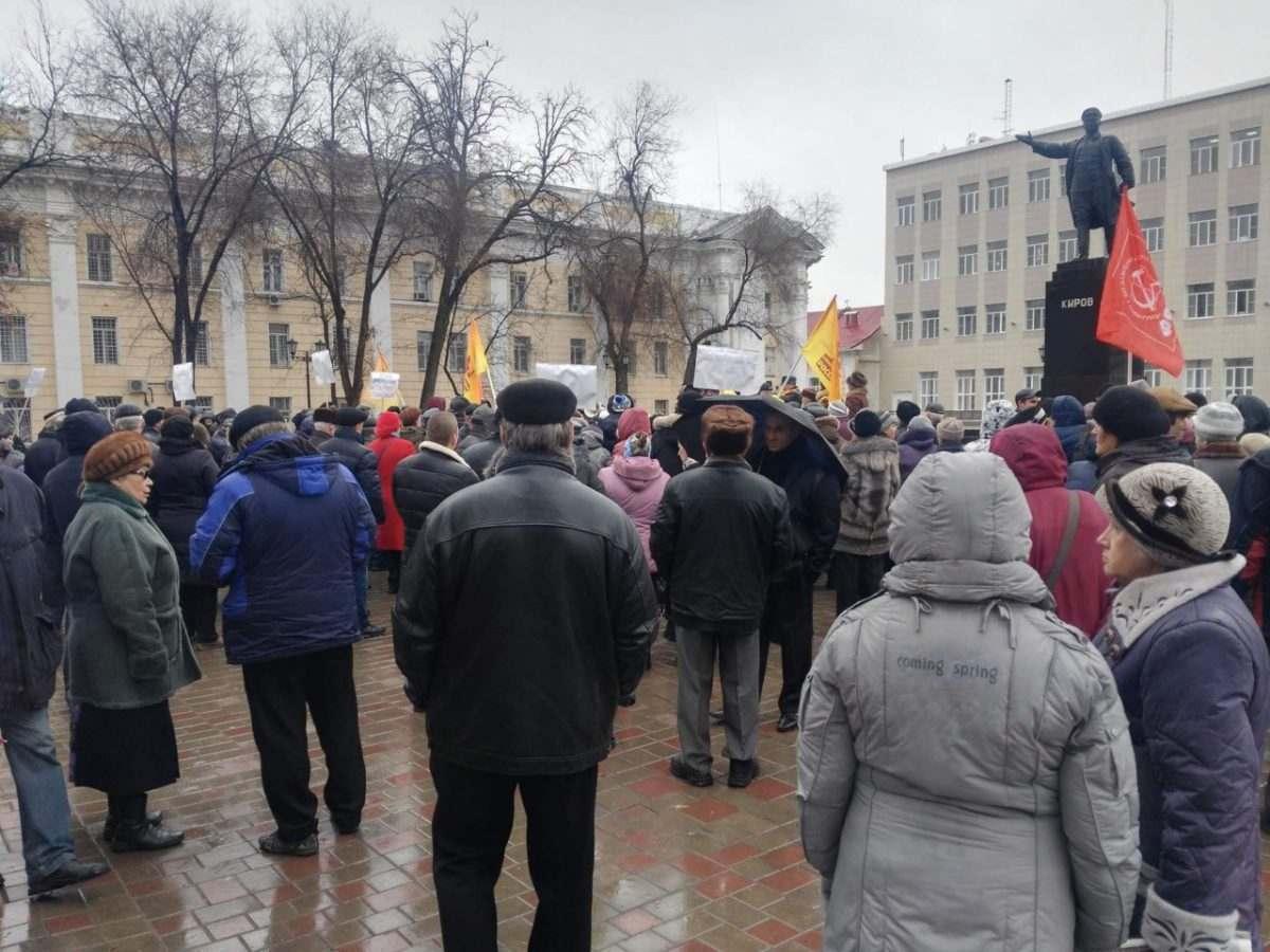 Астраханцы требуют отправить в отставку правительство региона