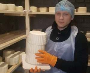 В Астрахани начали производить мягкие сыры