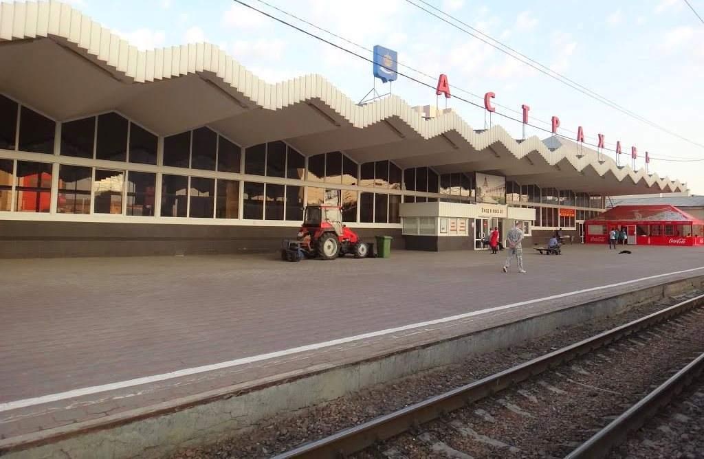 На станции Астрахань-1 отремонтировали пассажирские платформы