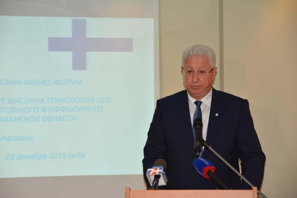 Константин Маркелов будет рад вхождению финских компаний в ОЭЗ «Лотос»