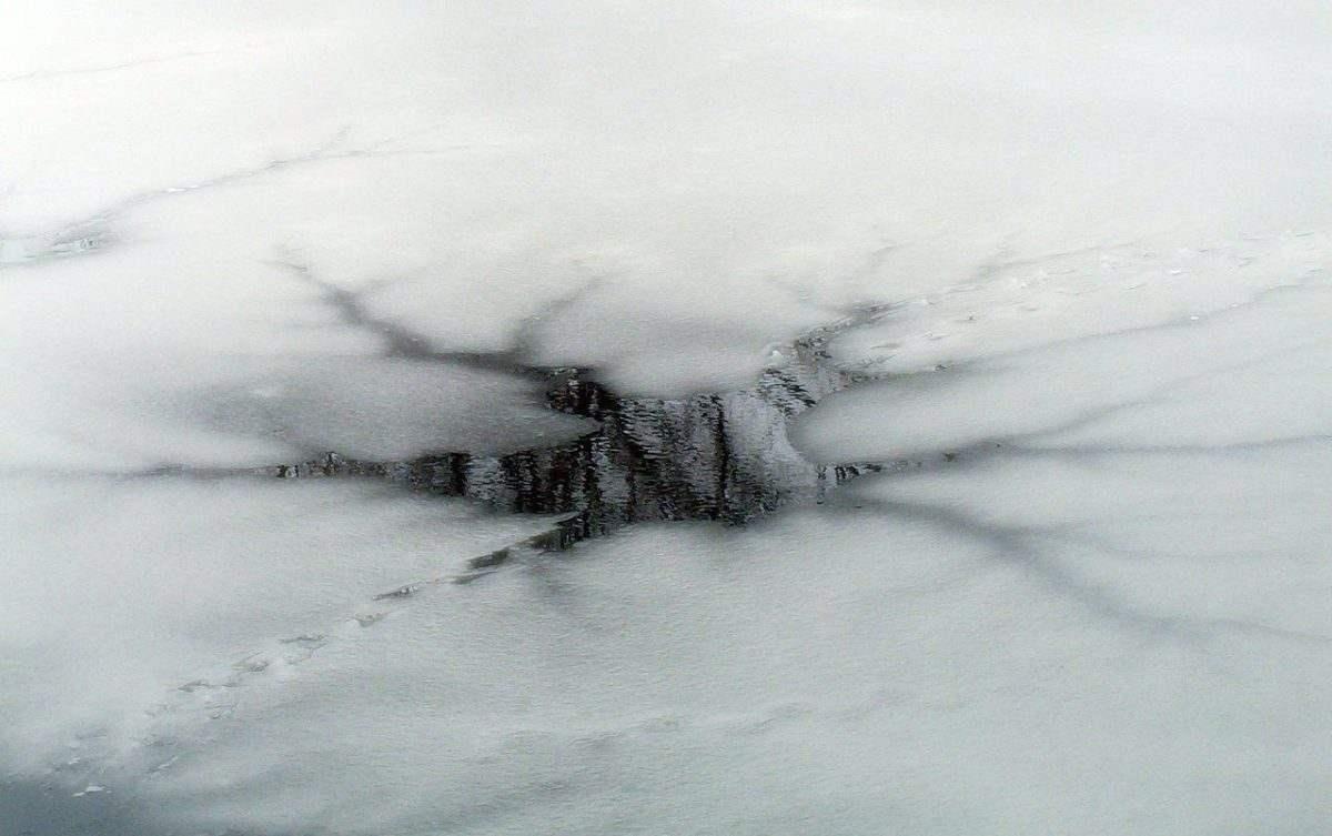 Под Астраханью утонула маленькая девочка во время катания на санках