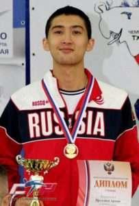 Астраханец выступит на Чемпионате мира