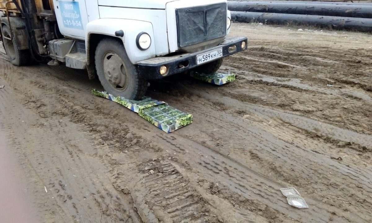 Польский салат уничтожили в Астраханской области