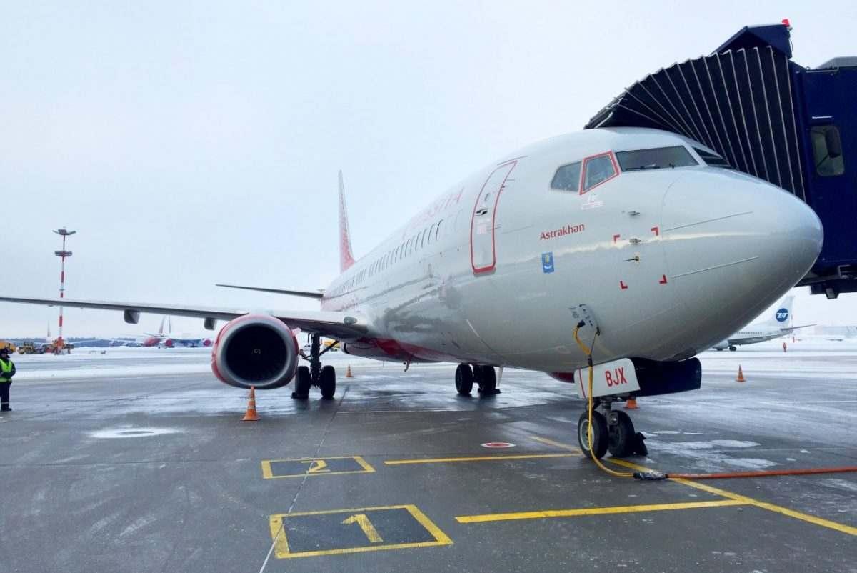 В честь Астрахани назвали самолет
