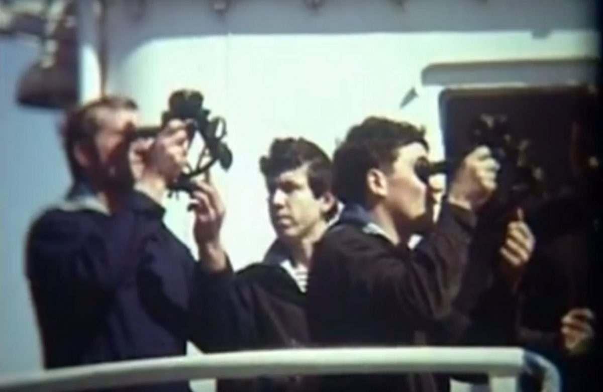 Архивное видео: как готовили каспийских моряков в 70-х годах