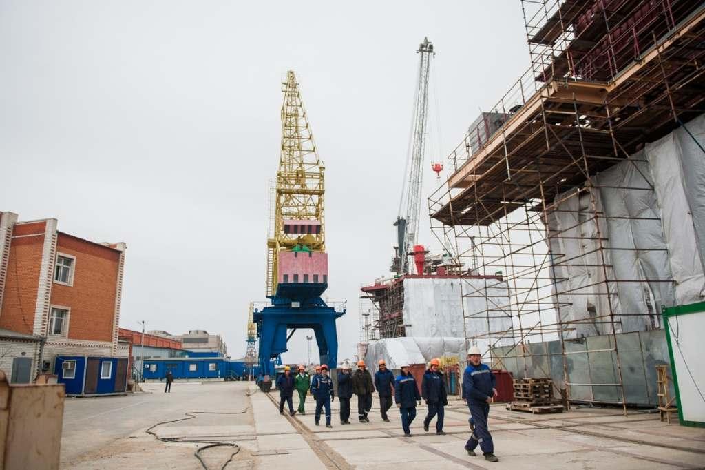 Астраханские судостроители готовятся спустить на воду первый танкер-химовоз