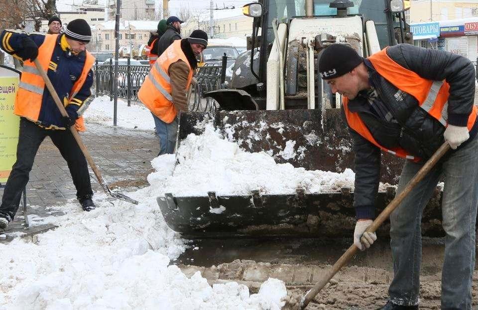 Астраханские коммунальщики готовятся к схватке со снегопадом