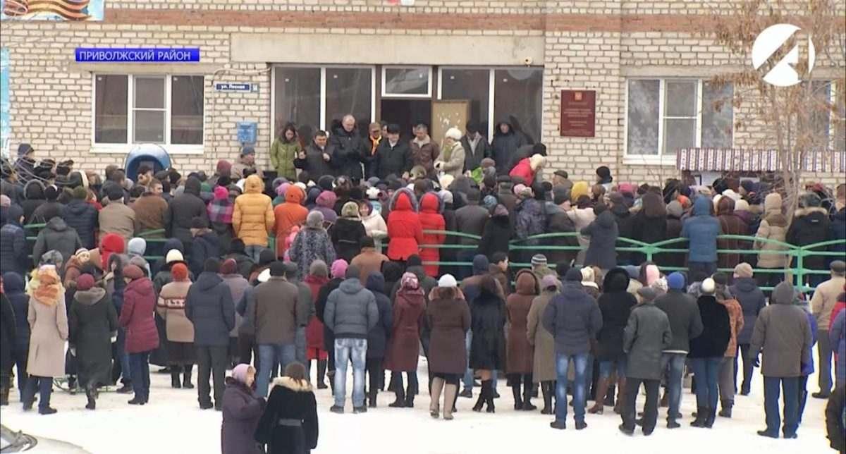 В Бирюковке митингуют против строительства мусороперерабатывающего завода